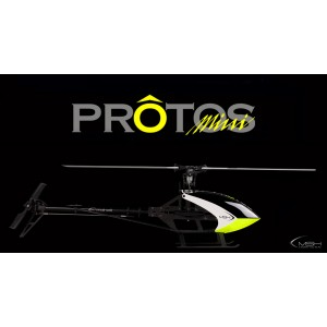 Mini Protos Carbon kit YGE+Scorpion+Blades : MSH41501