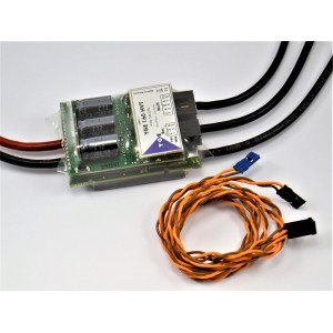 YGE 165 HVT brushless controller with telemetry