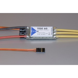 YGE60 Brushless controller